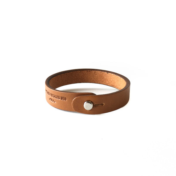 Single Wrap Cuff - London Tan