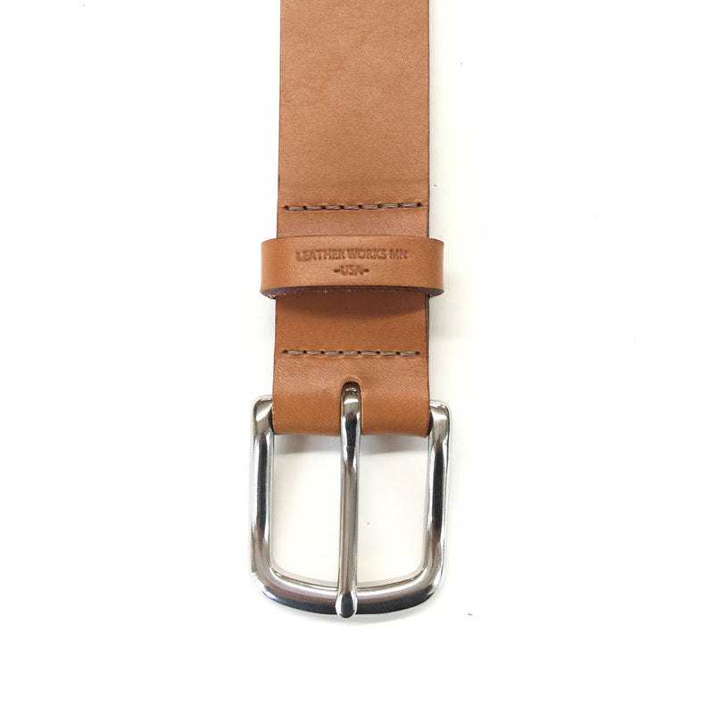 "Classic Belt  1 1/2"" - London Tan"