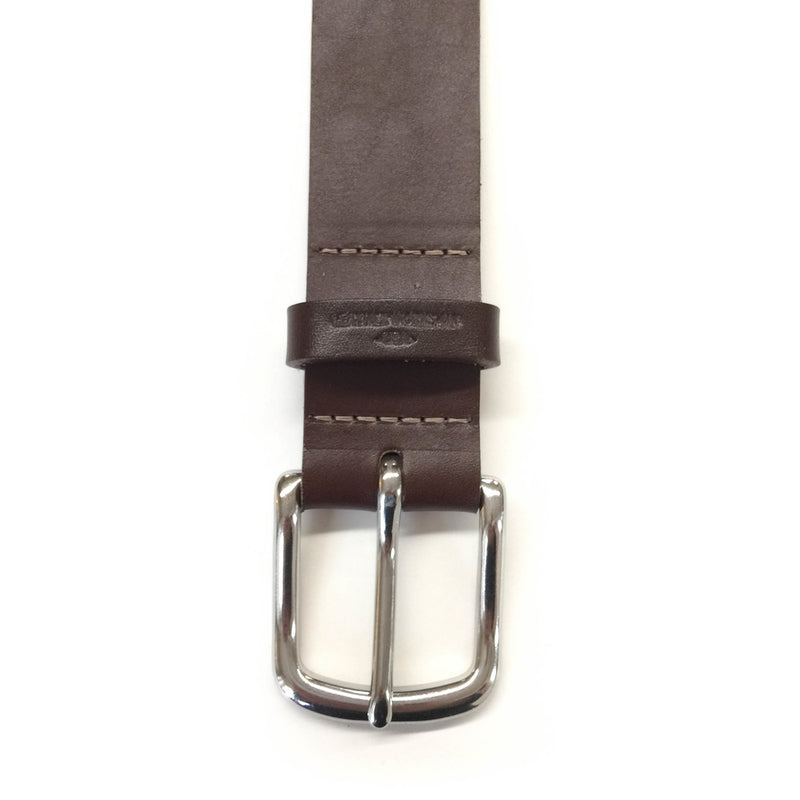 "Classic Belt  1 1/2"" - Chocolate Brown"