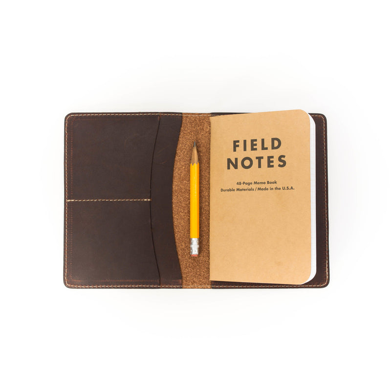 Navigator Note & Passport Wallet - Mahogany