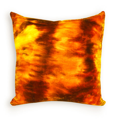 Hand Dyed Velvet One of a Kind Pillows