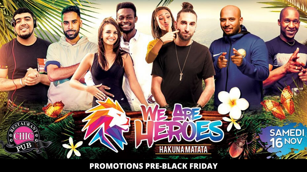 We Are Heroes - Hakuna Matata : BLACK FRIDAY