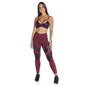 Legging Leather - flowdancefit.com