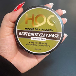 Bentonite Miracle Facial Clay Mask with Collagen