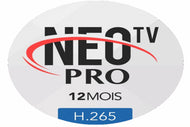 Neo tv pro 2 IPTV Subscription for 12 month