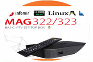 MAG IPTV Subscription For 12 Months