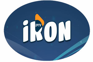 IRON IPTV Subscription For 12 Months