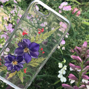 💜' A touch of Mauve' iPhone case🌿
