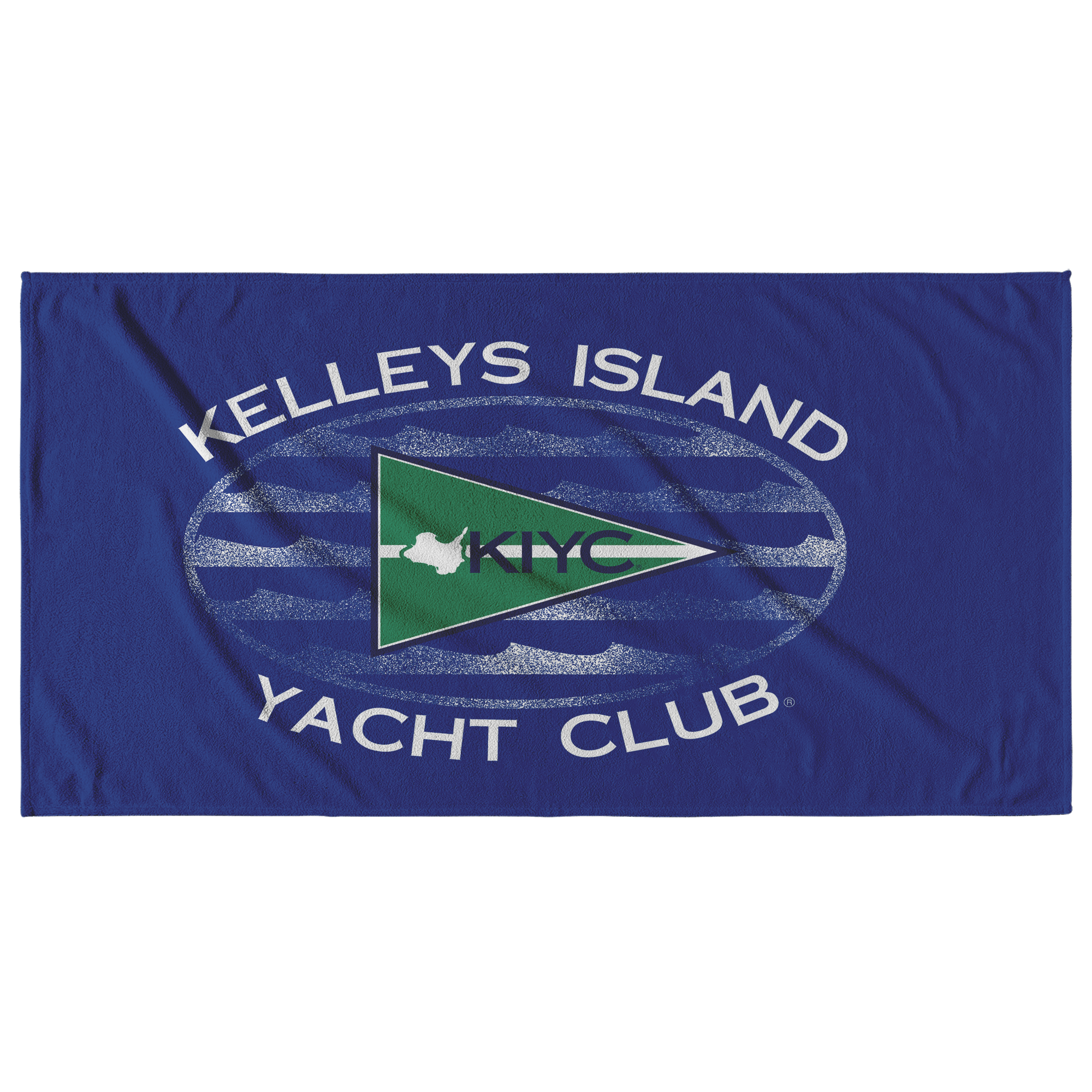 True Blue KIYC Beach Towel