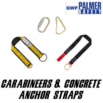 Carabineers & Concrete Anchor Straps