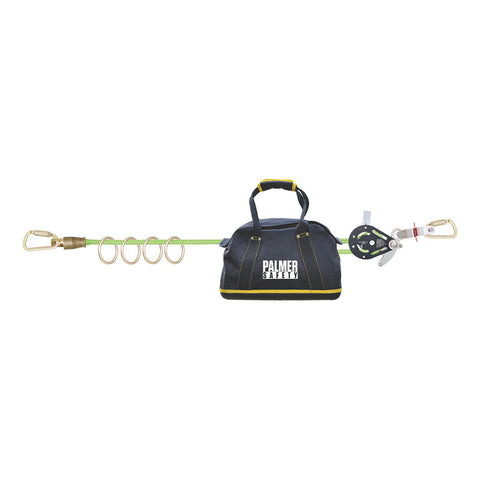 Four Man Horizontal Lifeline System - Defender Safety Products