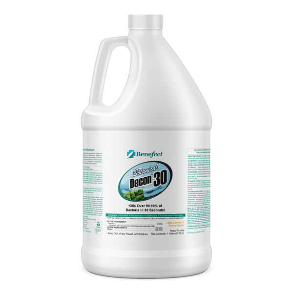 Benefect Decon 30: Botanical Disinfectant - Defender Safety Products