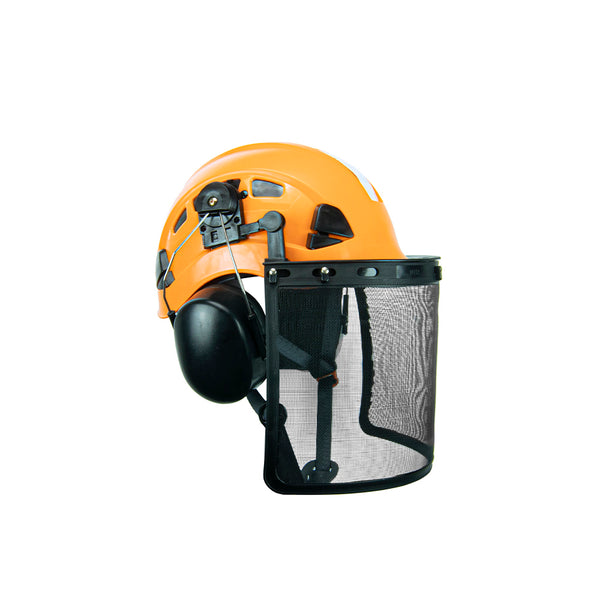 Defender Safety H1-CH Forestry/Tree Safety Helmet and Hearing Protection Arborist Package - Defender Safety