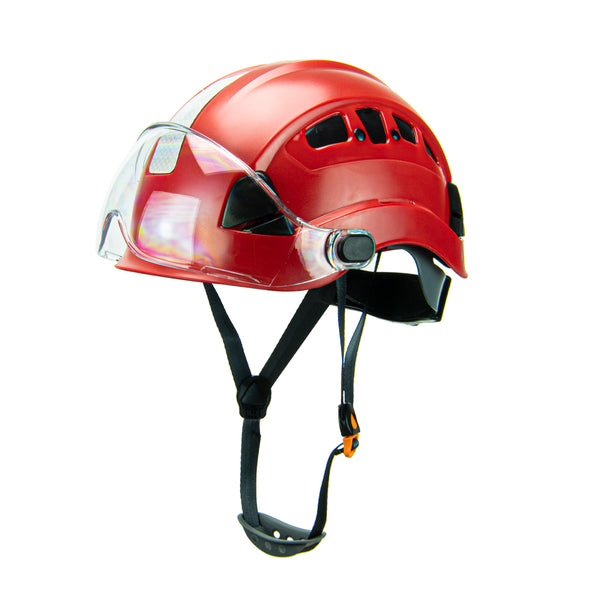 Defender Safety H1-CH® Hard Hat Climbing Helmet with Visor for Industrial & Construction ANSI Z89.1 - Defender Safety