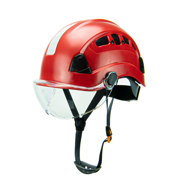 Defender Safety H1-CH® Hard Hat Climbing Helmet for Industrial & Construction ANSI Z89.1 - Defender Safety