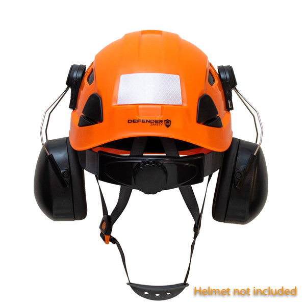Ear Muffs for the Defender Safety H1-CH Hard Hat - Defender Safety