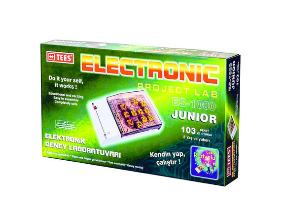 ES-1000 Junior Temel Elektronik Deney Seti