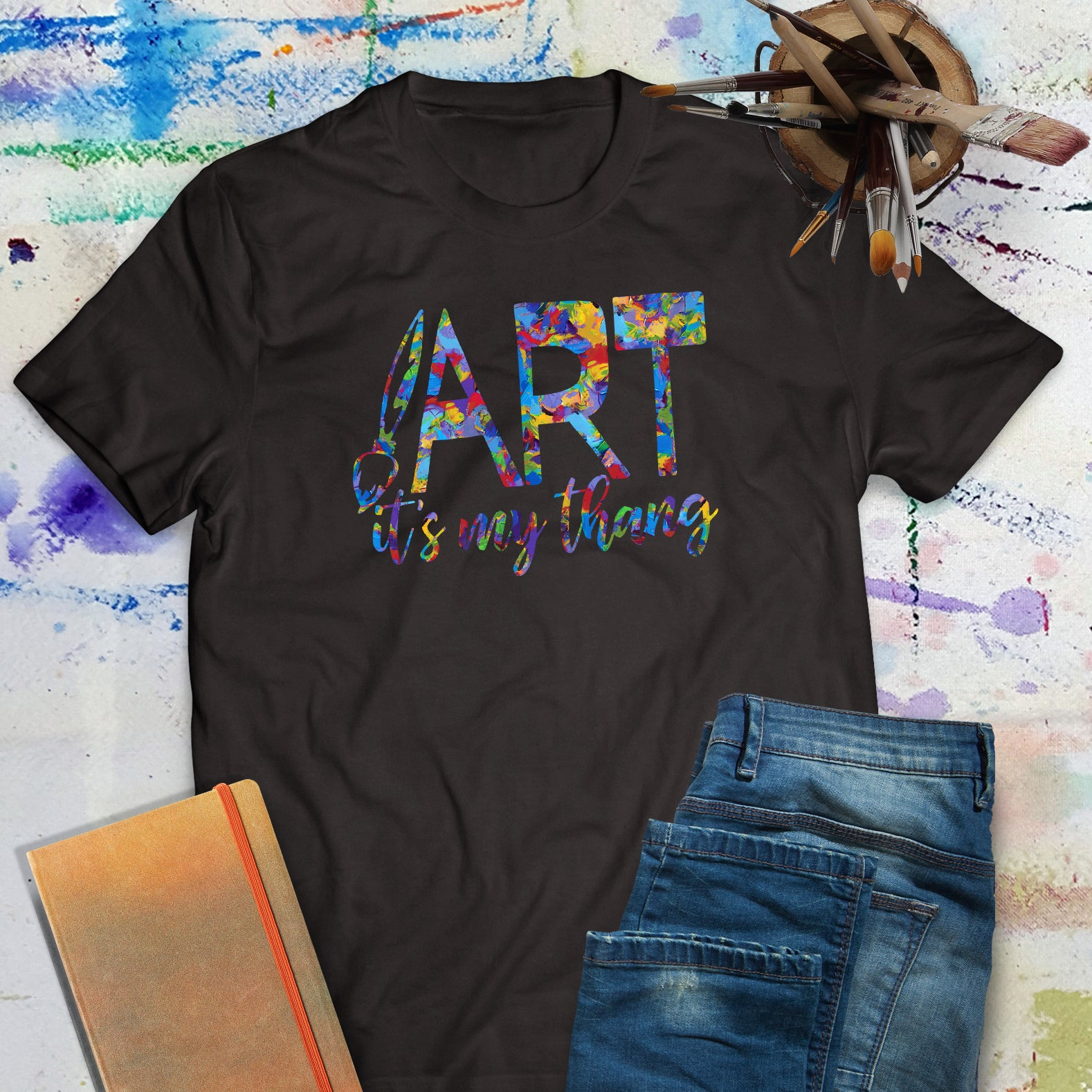 Art it's my thang - unisex artist tee shirt | Art Print Express Gear