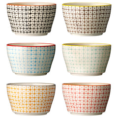 Bowl - Carla set of six