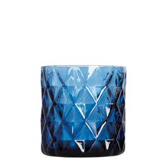 Candle Holder - Blue Chunky