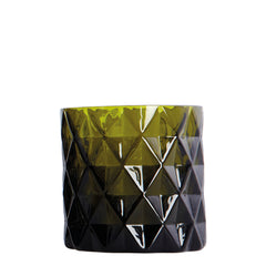 Candle Holder - Green Chunky