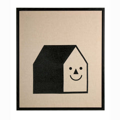 Smiling House Canvas