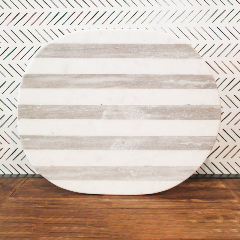 Marble + Stripes Cutting Board