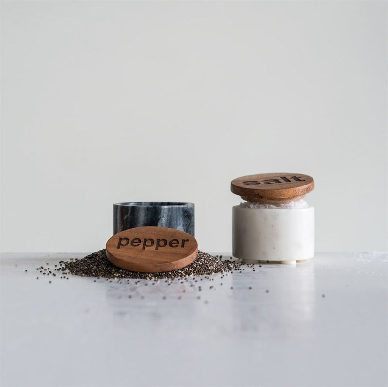 Salt + Pepper Set