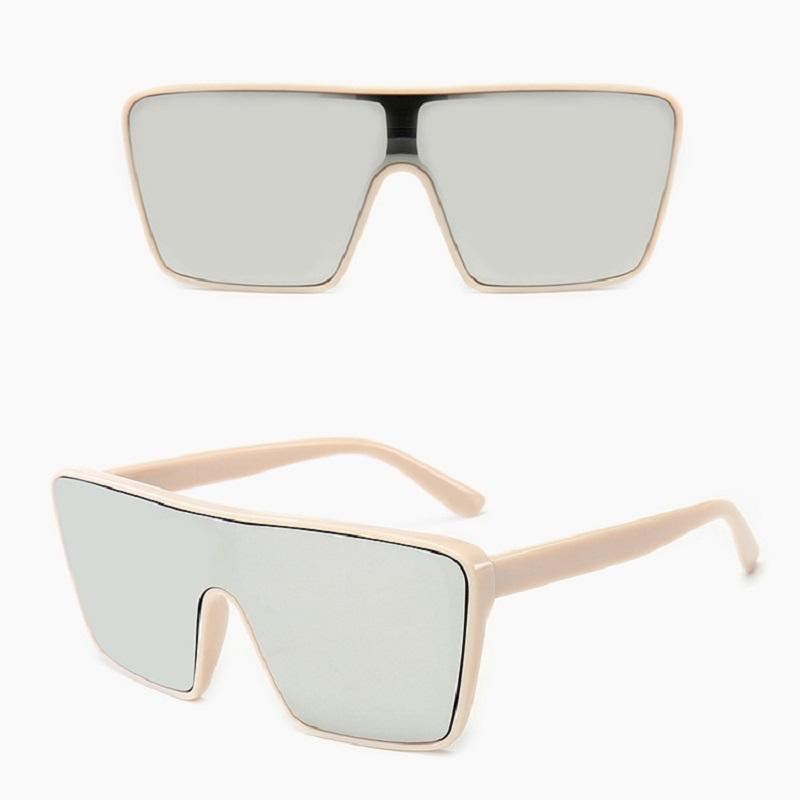 Retro Large Frame Sunglasses