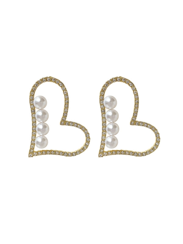 Dale Diamond Peal Earrings 80073