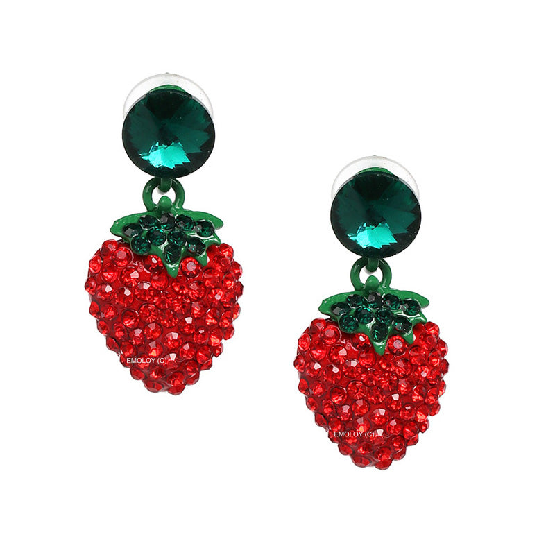 The Strawberry Earring
