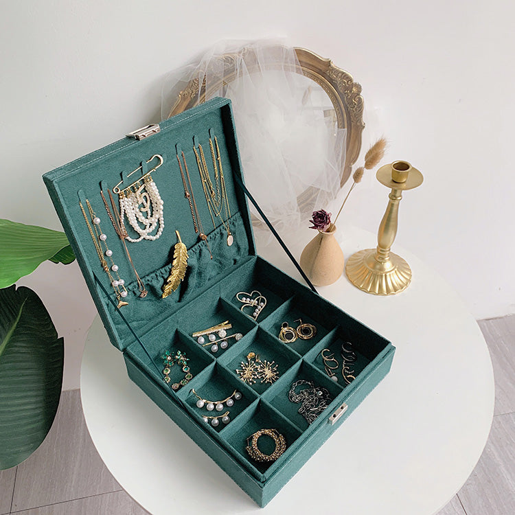 Vintage Jewelry Storage Box