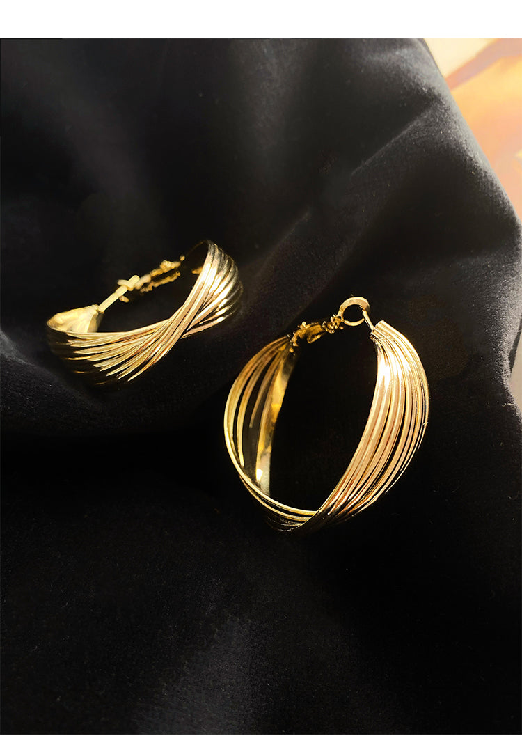 Zoe Gold Earrings