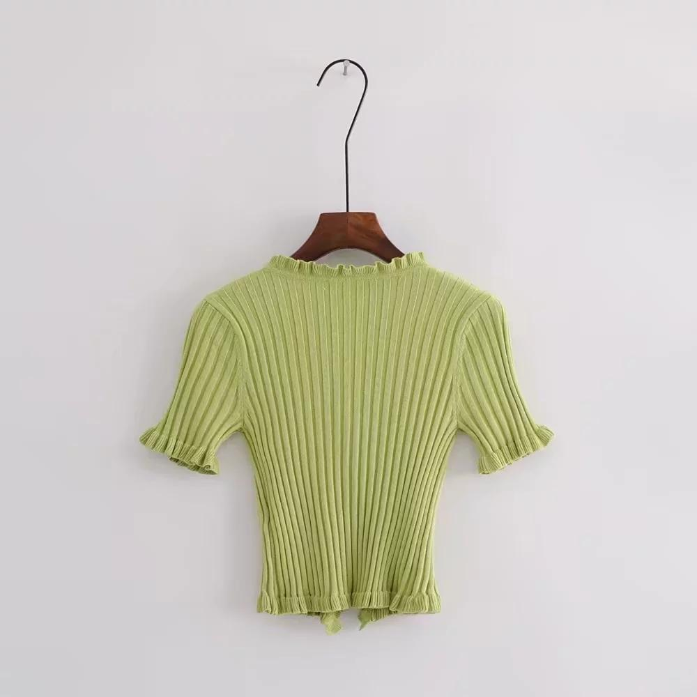 Elliot Button Front Knit Top