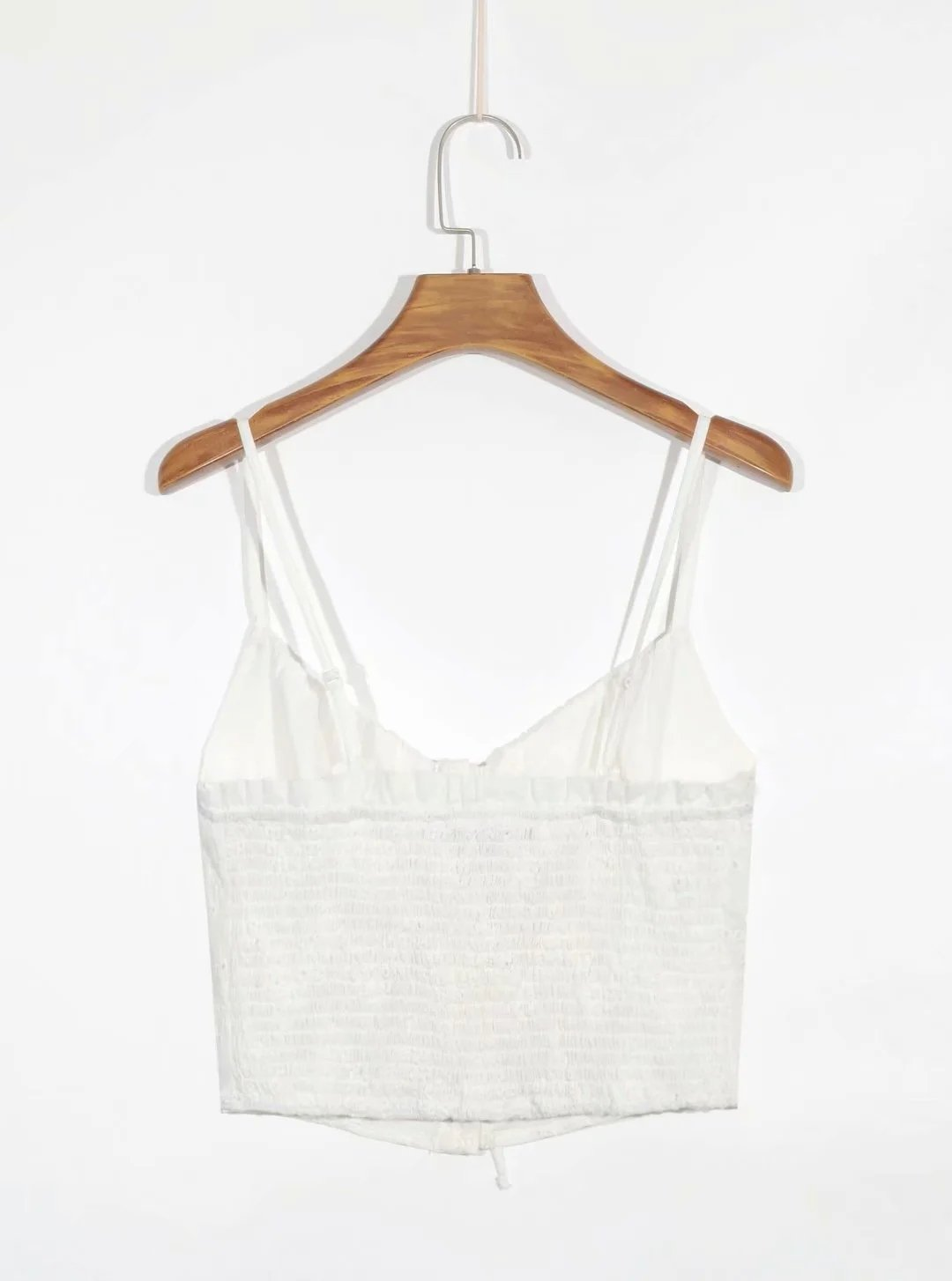 Haylee Eyelet Crop Top