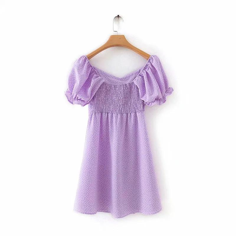 Lilyana Puff Sleeve Dress
