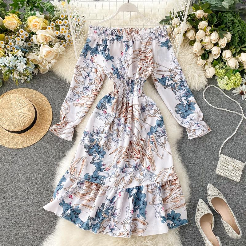June Off-Shoulder Dress