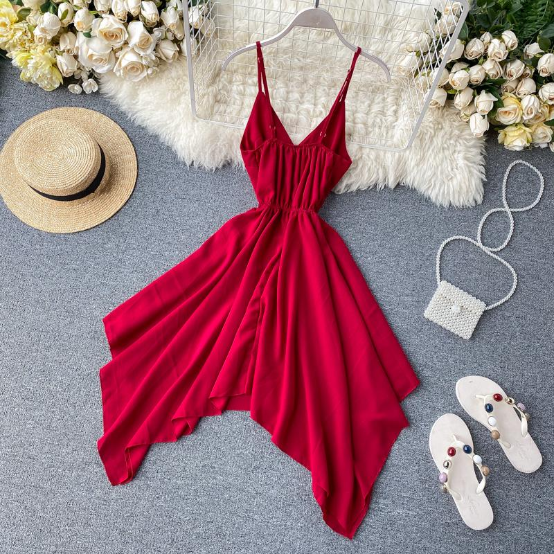 Joanna V Neck Dress