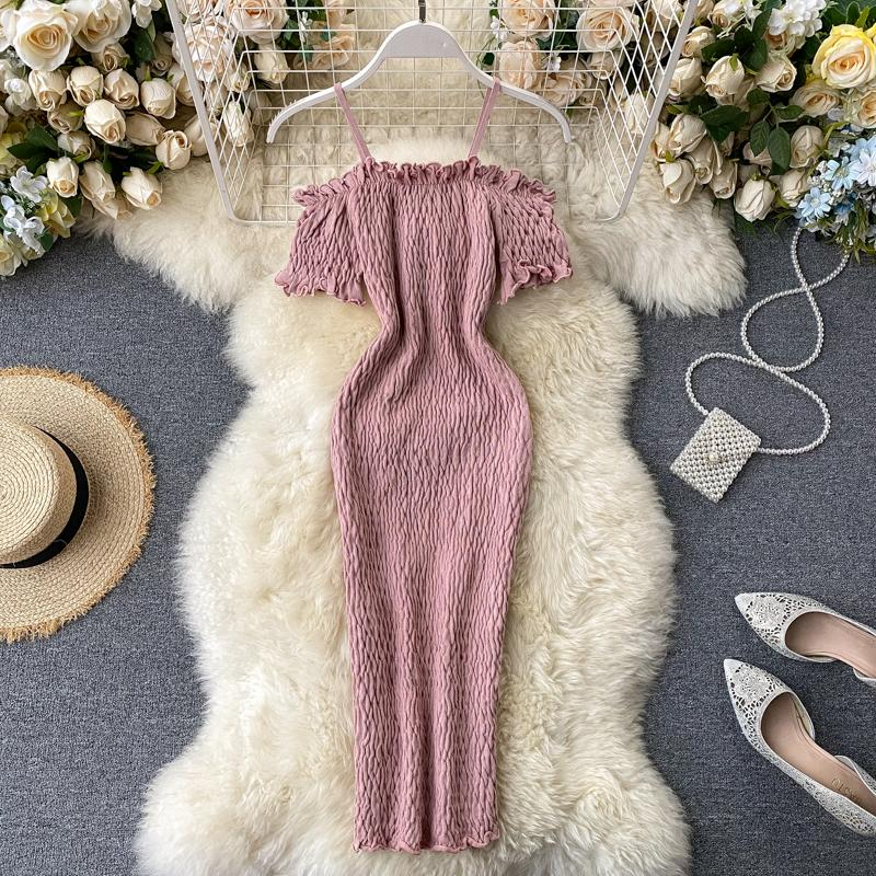 Zahra Off-Shoulder Knit Dress