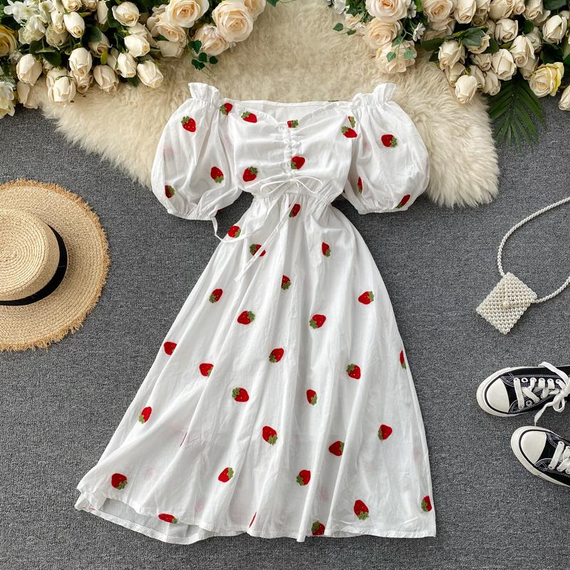 Kyleigh Off-Shoulder Puff Sleeve Dress