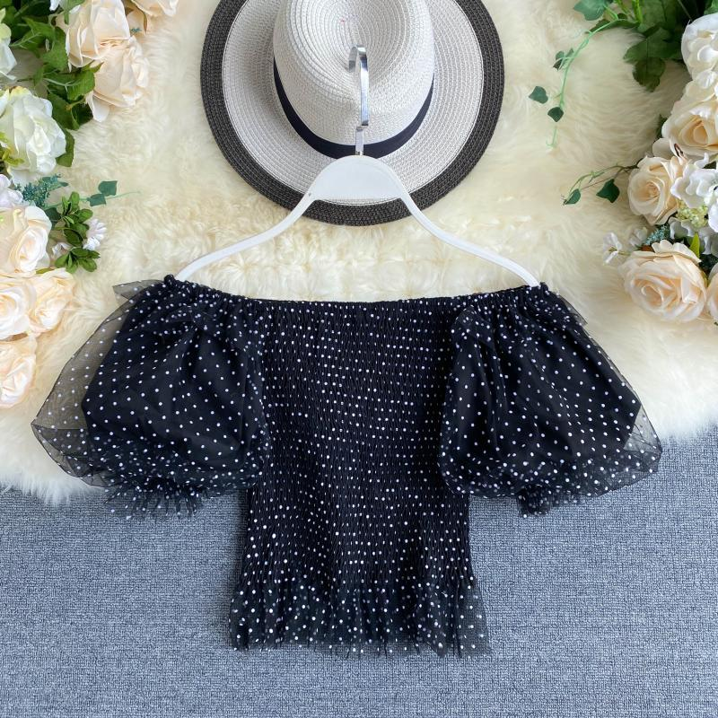 Nala Shirred Puff Sleeve Top