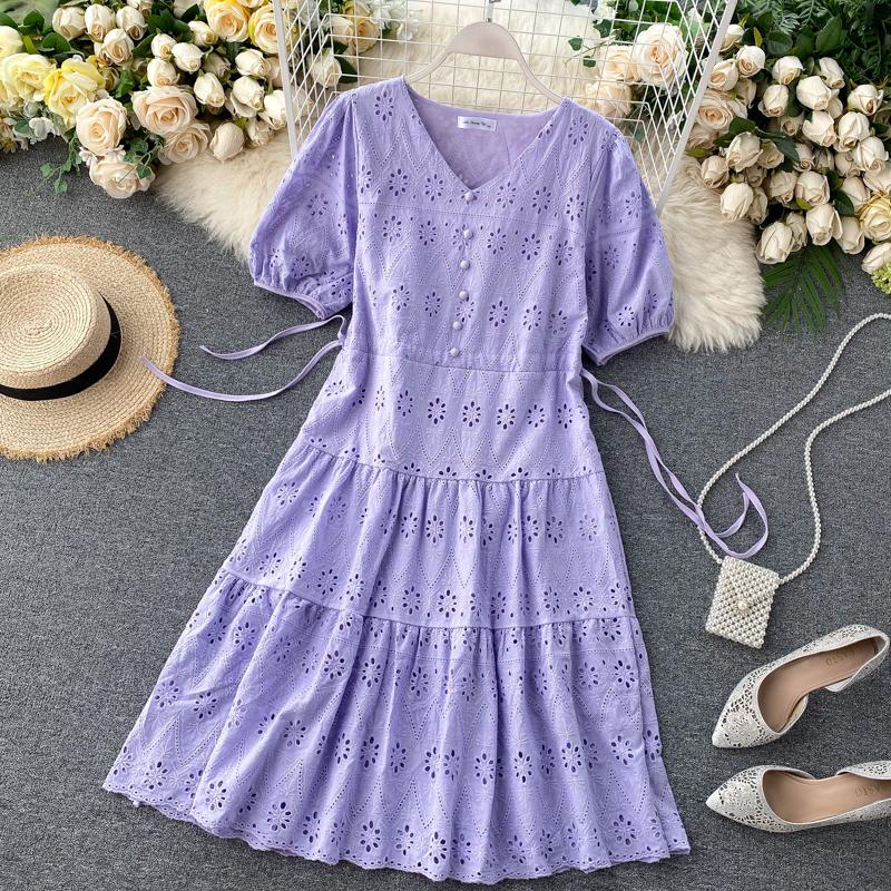 Estella Eyelet Dress