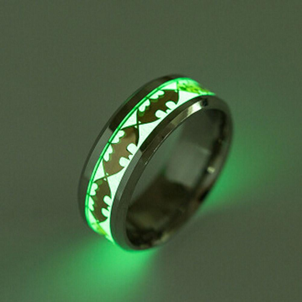 Glow in the dark Batman Ring