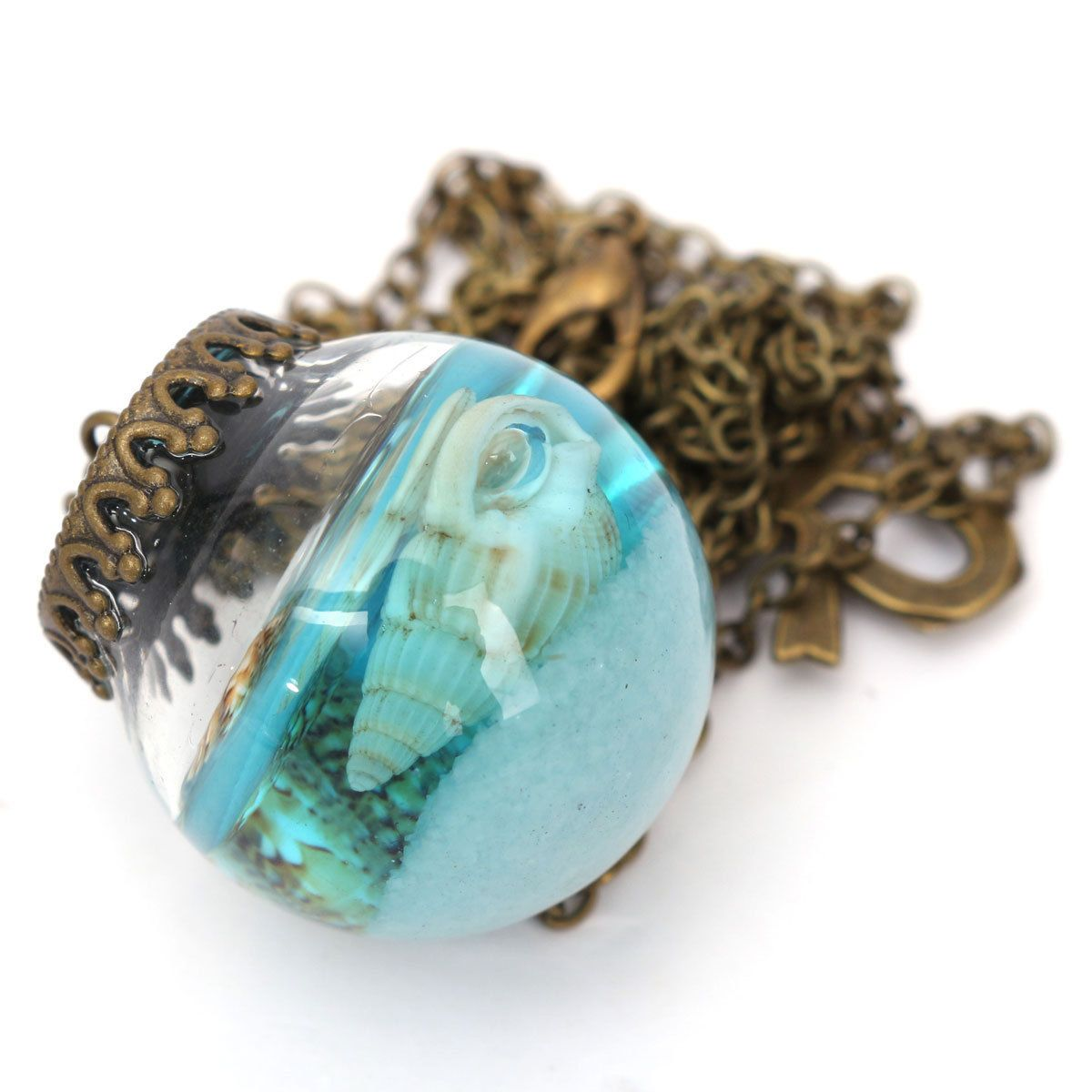 Jar Of Mermaid Tears Necklace