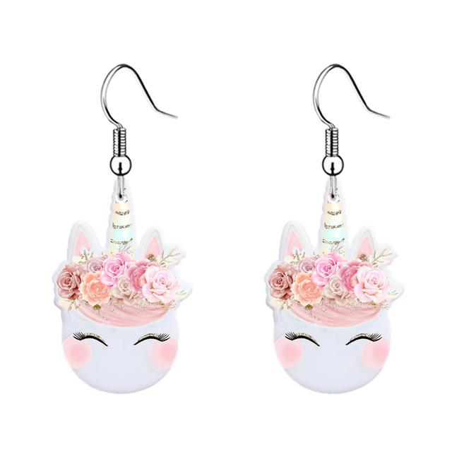Kawaii Unicorn Earrings