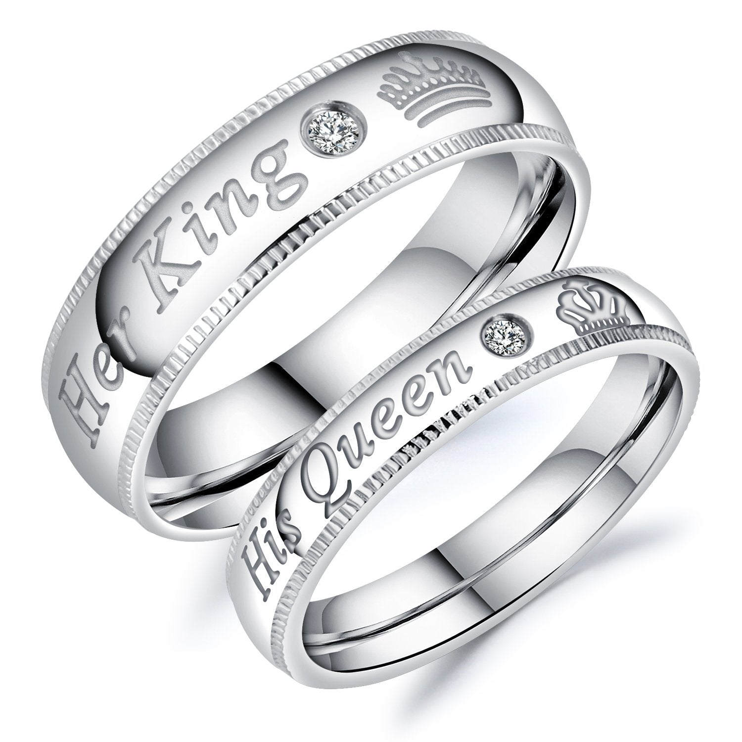 His Queen & Her King Rings