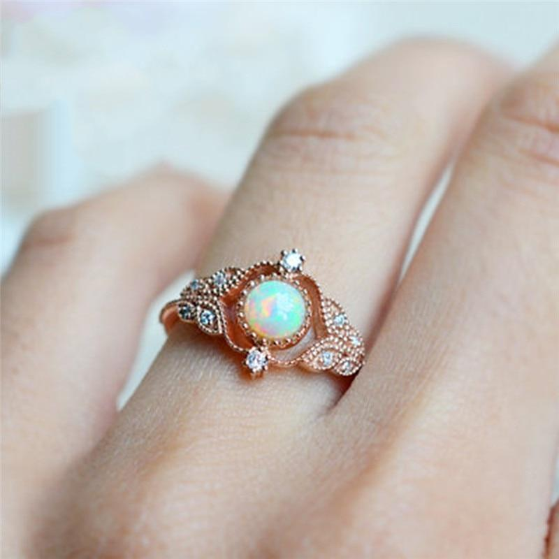 Juliana Opal Ring
