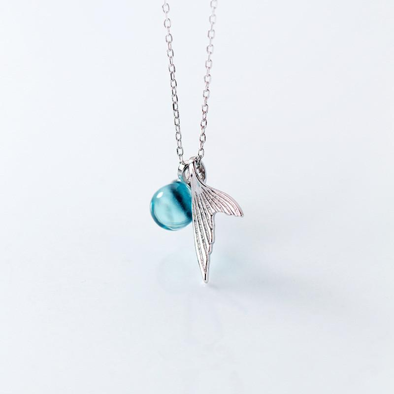 Crystal Mermaid Necklace