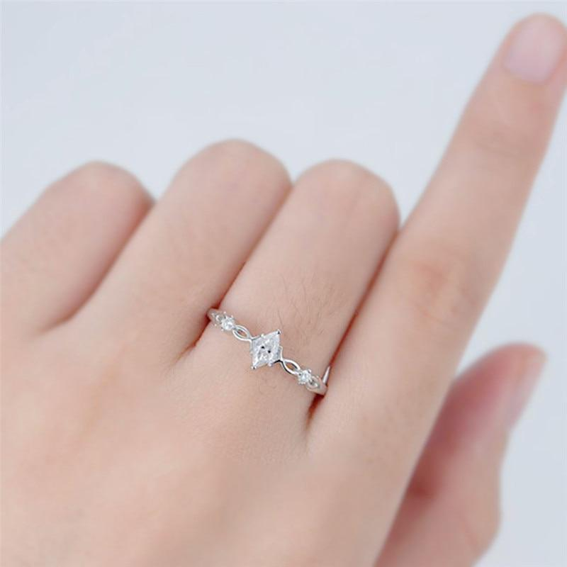 Luxury Crystal Marquise Ring