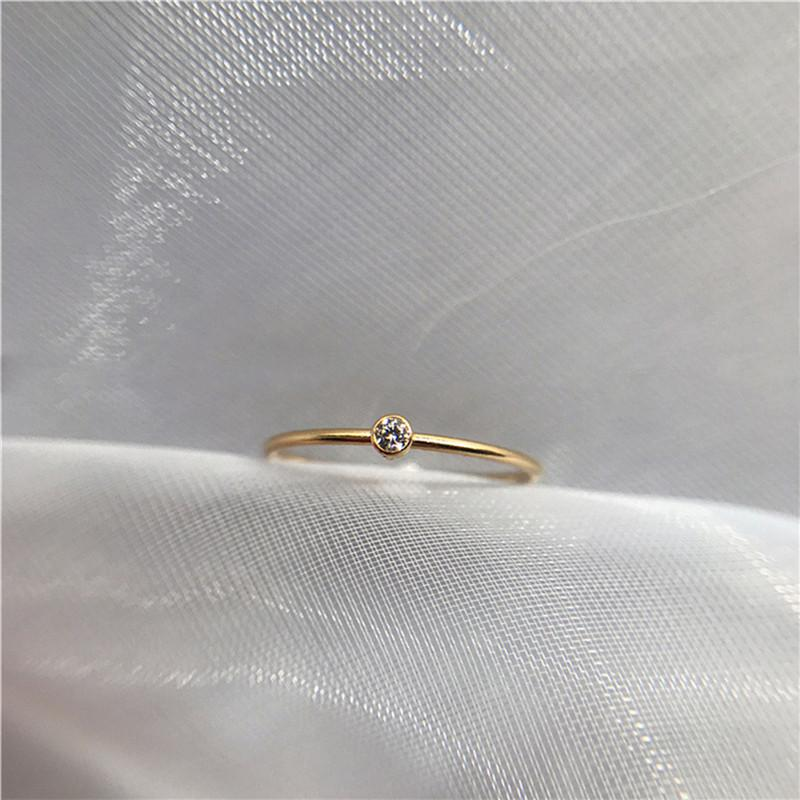 Crystal Simple Ring
